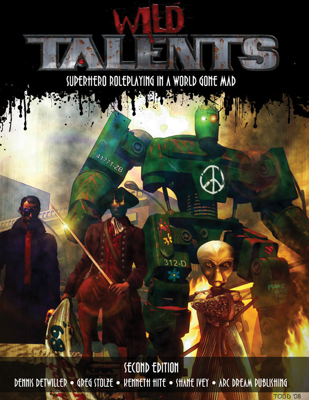 "Arc Dream Publishing and Cubicle 7 Entertainment are pleased to announce a new publishing partnership. Cubicle 7 will publish the ""Wild Talents"" game line developed and produced by Arc Dream,..."