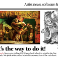 As the Puppetland PDF is making the rounds and while we're waiting for the print copies, ImagineFX — a great magazine for digital artists — has written a piece about the impending release. […]